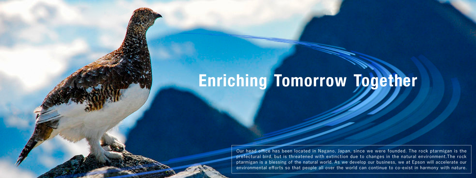 Enriching Tomorrow Together