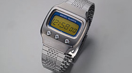 Six-Digit LCD Digital Watch